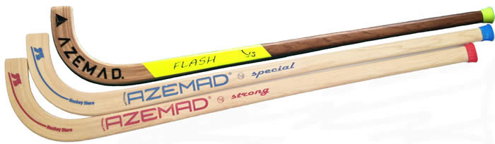 Azemad hockey sticks