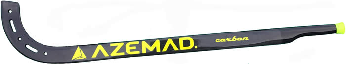 Azemad carbon black goal keeper stick