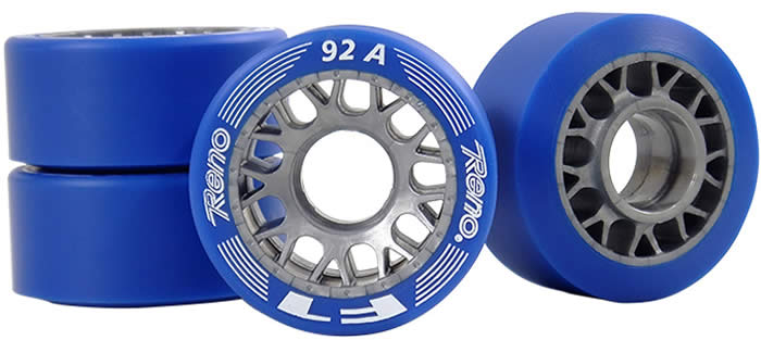 Reno F1 skate 92A wheels