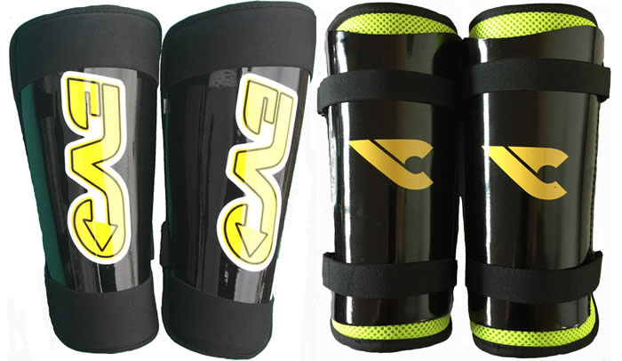 Evo and Shield shin guards