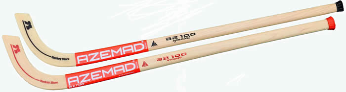 Azemad AZ100 hockey sticks