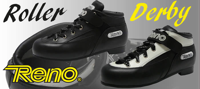 Reno Roller Derby boot