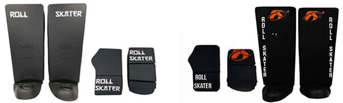 Roll Skater gloves and leg guards RVT101 and Elite