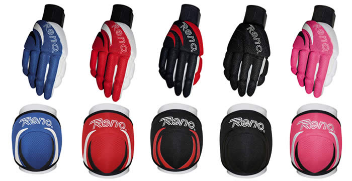 Reno master Tex gloves and kneepads