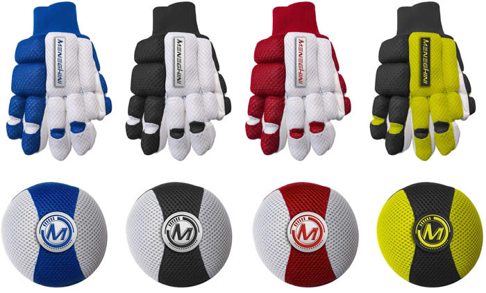 meneghini Impact Tex gloves and knee pad set