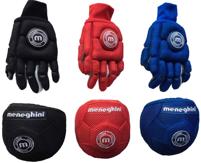 meneghini Leggero tex gloves and knee pads