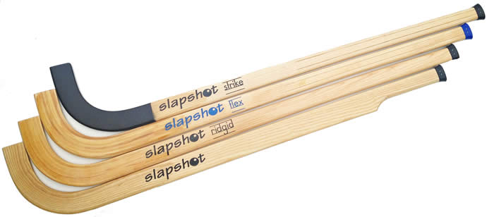 Slapshot hockey sticks